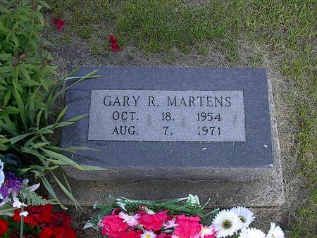 MARTENS, GARY R. - Iowa County, Iowa | GARY R. MARTENS