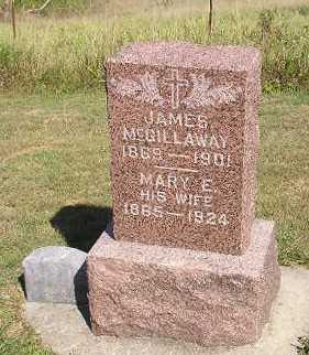 MCGILLAWAY, MARY E. - Iowa County, Iowa | MARY E. MCGILLAWAY