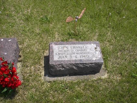 MONTROSS, JOHN CHARLES - Iowa County, Iowa   JOHN CHARLES MONTROSS