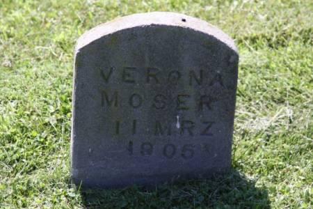 MOSER, VERONA - Iowa County, Iowa | VERONA MOSER