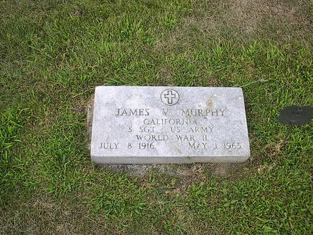 MURPHY, JAMES V. - Iowa County, Iowa   JAMES V. MURPHY