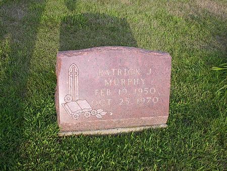 MURPHY, PATRICK J. - Iowa County, Iowa   PATRICK J. MURPHY