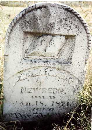 NEWBERN, PHINEAS F. - Iowa County, Iowa   PHINEAS F. NEWBERN
