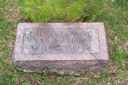 NEWKIRK, CHRISTIAN C. - Iowa County, Iowa | CHRISTIAN C. NEWKIRK
