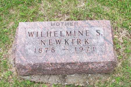 NEWKIRK, WILHELMINE S. - Iowa County, Iowa | WILHELMINE S. NEWKIRK