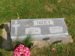 NIDEY, ROY N. - Iowa County, Iowa | ROY N. NIDEY