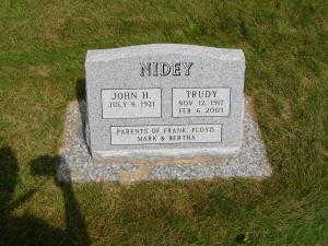 NIDEY, TRUDY - Iowa County, Iowa | TRUDY NIDEY