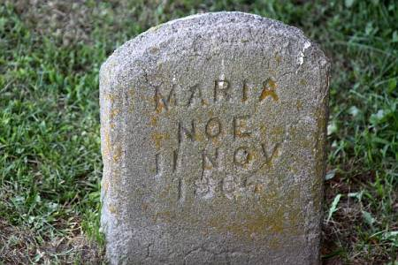 NOE, MARIA - Iowa County, Iowa | MARIA NOE