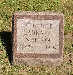 NORTON, LAURA L - Iowa County, Iowa   LAURA L NORTON