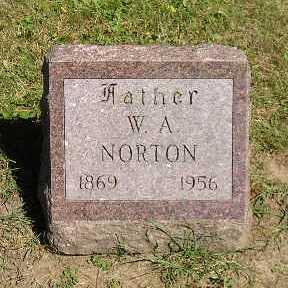 NORTON, W A - Iowa County, Iowa | W A NORTON