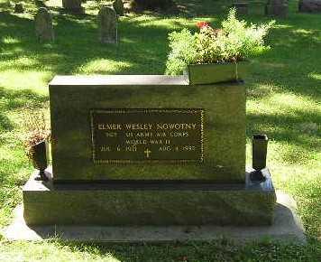 NOWOTNY, ELMER WESLEY - Iowa County, Iowa   ELMER WESLEY NOWOTNY