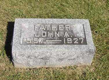NOWOTNY, JOHN A - Iowa County, Iowa   JOHN A NOWOTNY