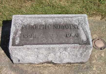 NOWOTNY, RUDOLPH C - Iowa County, Iowa | RUDOLPH C NOWOTNY
