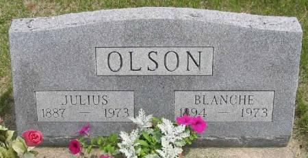 OLSON, BLANCHE - Iowa County, Iowa | BLANCHE OLSON