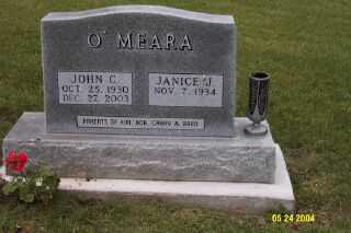 O'MEARA, J. CYRIL - Iowa County, Iowa   J. CYRIL O'MEARA