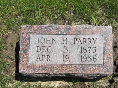 PARRY, JOHN H - Iowa County, Iowa | JOHN H PARRY