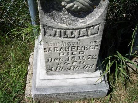 PEIRCE, WILLIAM - Iowa County, Iowa | WILLIAM PEIRCE