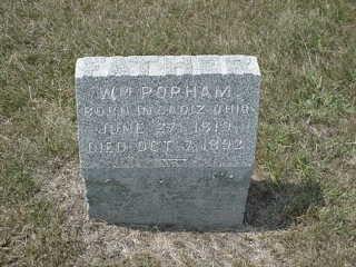 POPHAM, WILLIAM - Iowa County, Iowa | WILLIAM POPHAM