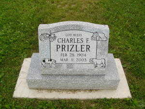 PRIZLER, CHARLES F. - Iowa County, Iowa | CHARLES F. PRIZLER
