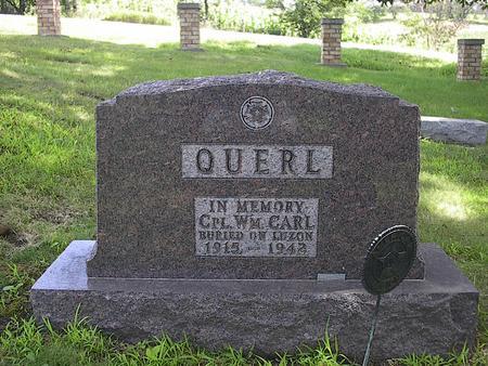 QUERL, WM. CARL - Iowa County, Iowa | WM. CARL QUERL