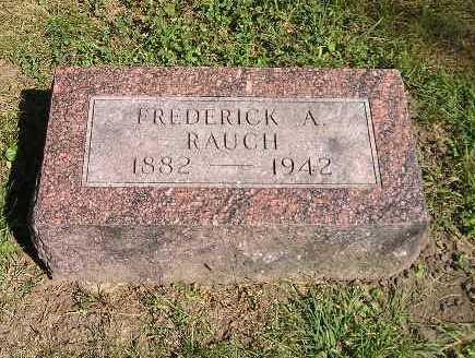 RAUCH, FREDERICK - Iowa County, Iowa | FREDERICK RAUCH