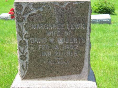 ROBERTS, MARGARET - Iowa County, Iowa | MARGARET ROBERTS