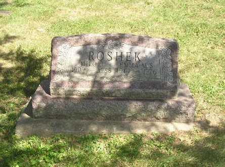 ROSHEK, MILO - Iowa County, Iowa | MILO ROSHEK