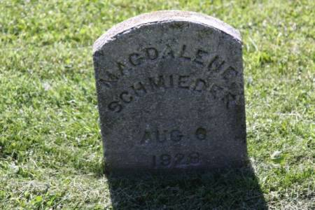 SCHMIEDER, MAGDALENE - Iowa County, Iowa | MAGDALENE SCHMIEDER
