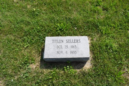SELLERS, HELEN - Iowa County, Iowa | HELEN SELLERS
