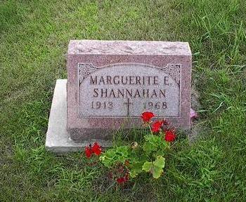 SHANNAHAN, MARGUERITE E. - Iowa County, Iowa | MARGUERITE E. SHANNAHAN