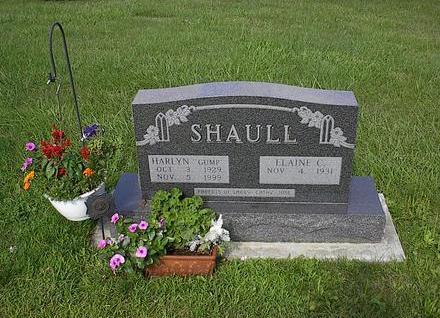 SHAULL, ELAINE C. - Iowa County, Iowa   ELAINE C. SHAULL