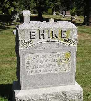 SHINE, JOHN - Iowa County, Iowa | JOHN SHINE