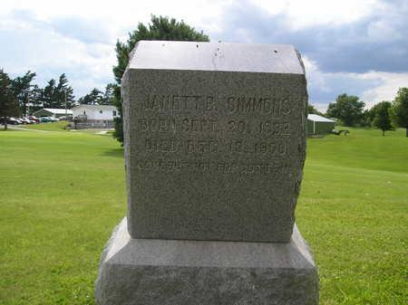 SIMMONS, JANETT - Iowa County, Iowa | JANETT SIMMONS