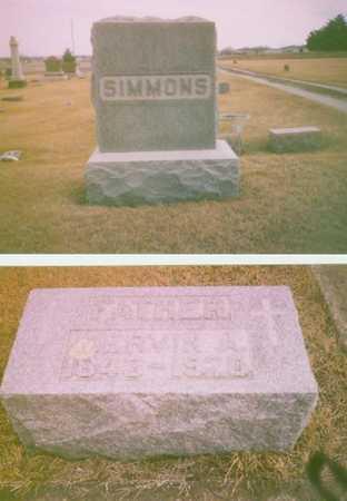 SIMMONS, MERVIN - Iowa County, Iowa   MERVIN SIMMONS