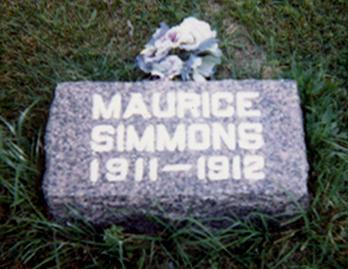 SIMMONS, MAURICE ALLEN - Iowa County, Iowa | MAURICE ALLEN SIMMONS