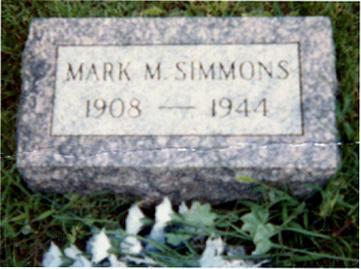 SIMMONS, MARK MERVIN - Iowa County, Iowa   MARK MERVIN SIMMONS