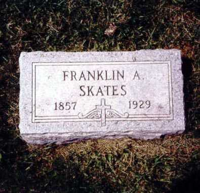 SKATES, FRANKLIN A. - Iowa County, Iowa   FRANKLIN A. SKATES