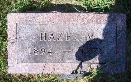 FIGG SLAGER, HAZEL M. - Iowa County, Iowa | HAZEL M. FIGG SLAGER