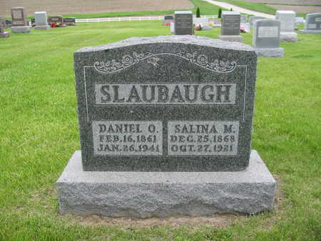 SLAUBAUGH, SALINA M. - Iowa County, Iowa | SALINA M. SLAUBAUGH