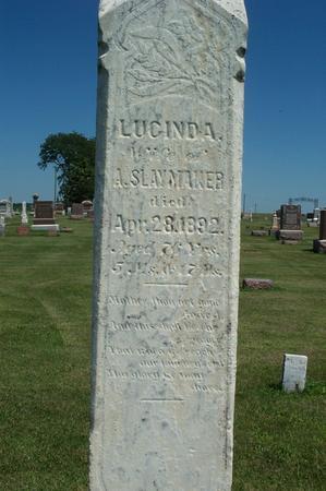 SLAYMAKER, LUCINDA - Iowa County, Iowa | LUCINDA SLAYMAKER