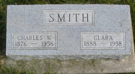 SMITH, CLARA - Iowa County, Iowa | CLARA SMITH