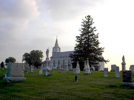 ST. MICHAEL'S CATHOLIC, CEMETERY - Iowa County, Iowa | CEMETERY ST. MICHAEL'S CATHOLIC