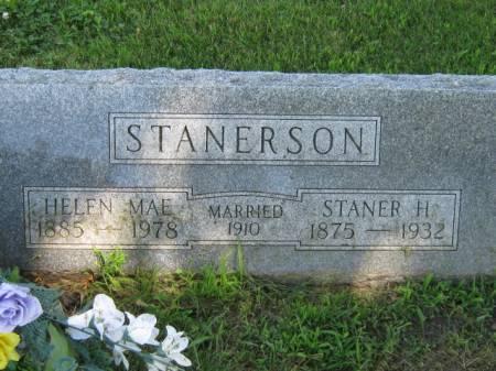 STANERSON, STANER H - Iowa County, Iowa | STANER H STANERSON