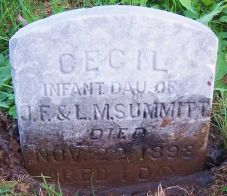 SUMMITT, CEGIL - Iowa County, Iowa   CEGIL SUMMITT