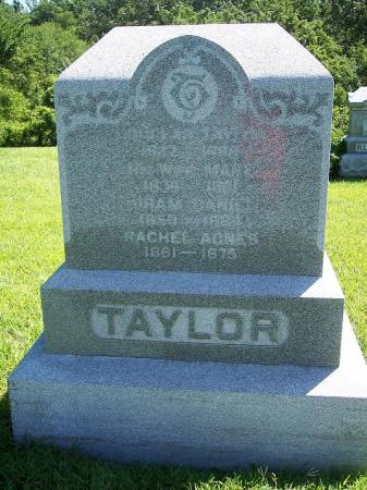TAYLOR, RACHEL AGNES - Iowa County, Iowa | RACHEL AGNES TAYLOR