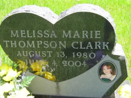 THOMPSON CLARK, MELISSA MARIE - Iowa County, Iowa | MELISSA MARIE THOMPSON CLARK
