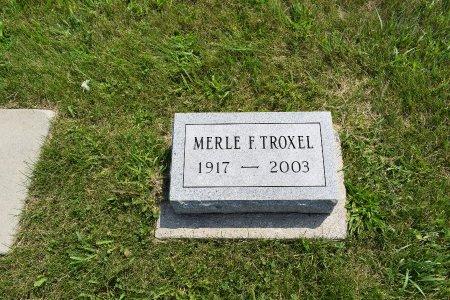 TROXEL, MERLE F. - Iowa County, Iowa | MERLE F. TROXEL