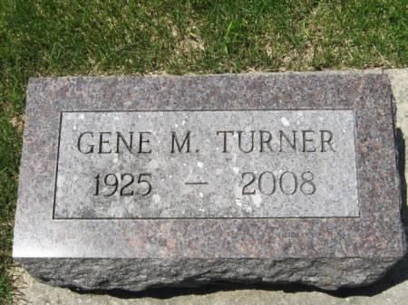 TURNER, GENE M - Iowa County, Iowa | GENE M TURNER