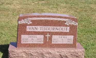 VAN THOURNOUT, ERMA - Iowa County, Iowa | ERMA VAN THOURNOUT