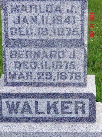 MYERS WALKER, MATILDA J - Iowa County, Iowa | MATILDA J MYERS WALKER